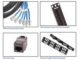 CAT6+ 系统 - 3600系列预端接系统